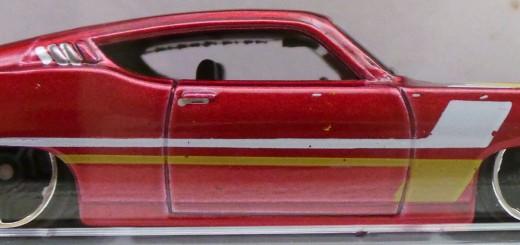 Hot Wheels `69 Ford Torino Talladaga butterscotch stripes