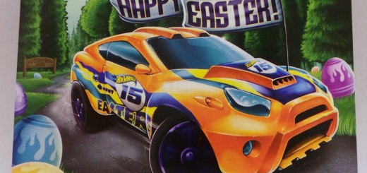 Hot Wheels Super Gnat chrome wheel in 2015 Easter package