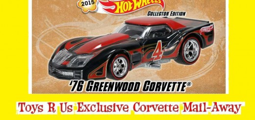 Hot Wheels Toys R Us Corvette Mail-Away 2015