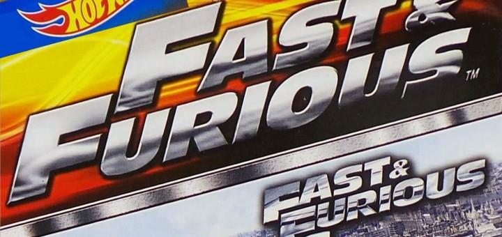 Hot Wheels Fast & Furious 6 set