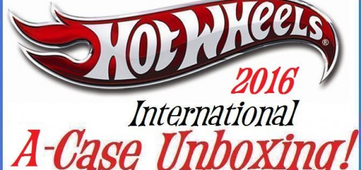 2016 Hot Wheels International A case Unboxing