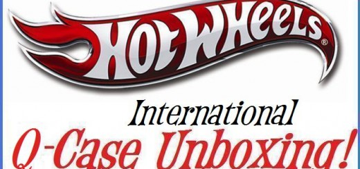 Hot Wheels International Q case Unboxing
