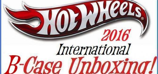 Hot Wheels 2016 B Case Opening!