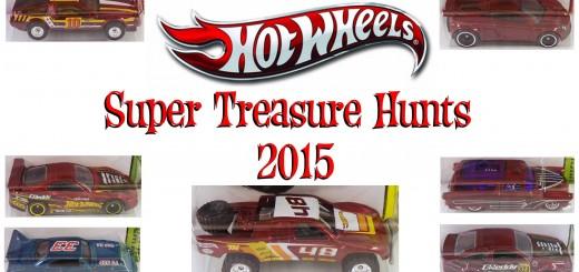 2015 Hot Wheels Super Treasure Hunts
