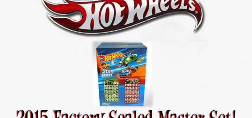 2015 Hot Wheels Master Set